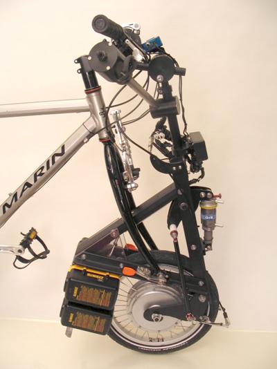 Electric bike motor kit system