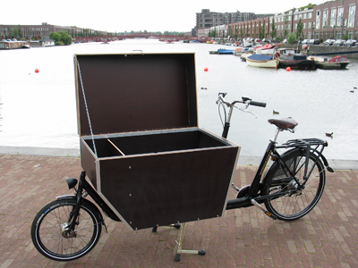 workcycles bakfiets cargobike delivery bike