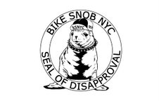 Bike Snob NYC seal of disapproval