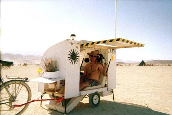 burning man trailer