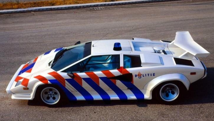 politie-auto-lambo